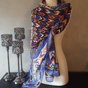 Union Square Modal & Silk Large Rectangle Scarf